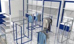 Дизайн интерьера детского магазина Перемена ТРЦ Азовский коллекция РАДУГА Дизайн 06