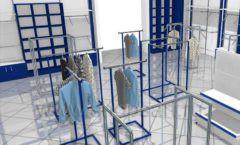 Дизайн интерьера детского магазина Перемена ТРЦ Азовский коллекция РАДУГА Дизайн 07