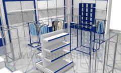 Дизайн интерьера детского магазина Перемена ТРЦ Азовский коллекция РАДУГА Дизайн 08