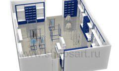 Дизайн интерьера детского магазина Перемена ТРЦ Азовский коллекция РАДУГА Дизайн 09