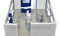 Дизайн интерьера детского магазина Перемена ТРЦ Азовский коллекция РАДУГА Дизайн 10