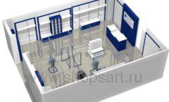 Дизайн интерьера детского магазина Перемена ТРЦ Азовский коллекция РАДУГА Дизайн 11