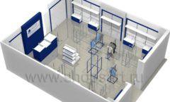 Дизайн интерьера детского магазина Перемена ТРЦ Азовский коллекция РАДУГА Дизайн 12