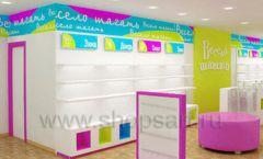 Дизайн интерьера детского магазина Весело шагать Москва коллекция КАРАМЕЛЬ Дизайн 5