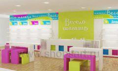 Дизайн интерьера детского магазина Весело шагать Москва коллекция КАРАМЕЛЬ Дизайн 6
