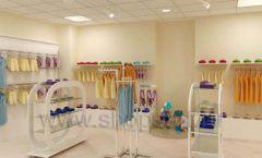 Дизайн интерьера детского магазина Жирафа коллекция БЕЛАЯ КЛАССИКА Дизайн 03