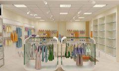 Дизайн интерьера детского магазина Жирафа коллекция БЕЛАЯ КЛАССИКА Дизайн 04