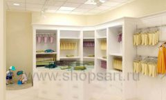 Дизайн интерьера детского магазина Жирафа коллекция БЕЛАЯ КЛАССИКА Дизайн 07