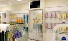 Дизайн интерьера детского магазина Жирафа коллекция БЕЛАЯ КЛАССИКА Дизайн 08