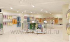 Дизайн интерьера детского магазина Жирафа коллекция БЕЛАЯ КЛАССИКА Дизайн 09