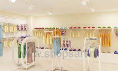 Дизайн интерьера детского магазина Жирафа коллекция БЕЛАЯ КЛАССИКА Дизайн 10