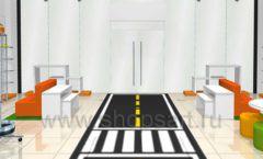 Дизайн интерьера детского магазина Пешеходик ТРЦ Рига Молл коллекция КАРАМЕЛЬ Дизайн 08
