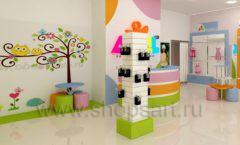 Дизайн интерьера детского магазина Artel коллекция АКВАРЕЛИ Дизайн 01