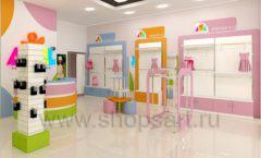 Дизайн интерьера детского магазина Artel коллекция АКВАРЕЛИ Дизайн 03