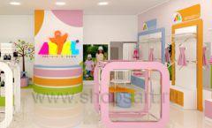 Дизайн интерьера детского магазина Artel коллекция АКВАРЕЛИ Дизайн 06