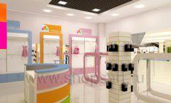 Дизайн интерьера детского магазина Artel коллекция АКВАРЕЛИ Дизайн 08