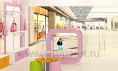 Дизайн интерьера детского магазина Artel коллекция АКВАРЕЛИ Дизайн 09