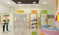 Дизайн интерьера детского магазина Artel коллекция АКВАРЕЛИ Дизайн 10