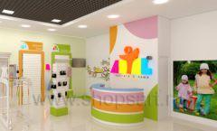 Дизайн интерьера детского магазина Artel коллекция АКВАРЕЛИ Дизайн 11