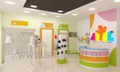 Дизайн интерьера детского магазина Artel коллекция АКВАРЕЛИ Дизайн 12