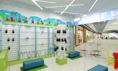 Дизайн интерьера детского магазина обуви Волшебная прогулка коллекция АКВАРЕЛИ Дизайн 07