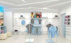 Дизайн интерьера детского магазина ACOO LIKE коллекция РАДУГА торговой мебели Дизайн 04