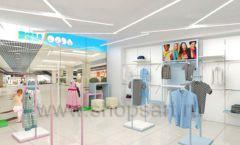 Дизайн интерьера детского магазина ACOO LIKE коллекция РАДУГА торговой мебели Дизайн 05