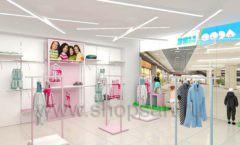 Дизайн интерьера детского магазина ACOO LIKE коллекция РАДУГА торговой мебели Дизайн 07