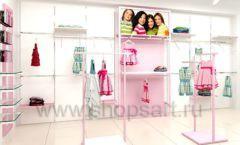Дизайн интерьера детского магазина ACOO LIKE коллекция РАДУГА торговой мебели Дизайн 13
