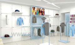 Дизайн интерьера детского магазина ACOO LIKE коллекция РАДУГА торговой мебели Дизайн 14