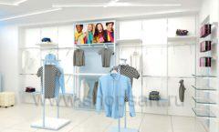 Дизайн интерьера детского магазина ACOO LIKE коллекция РАДУГА торговой мебели Дизайн 17