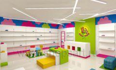 Дизайн интерьера детского магазина Мишутка торговая мебель КАРАМЕЛЬ Дизайн 04