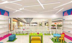 Дизайн интерьера детского магазина Мишутка торговая мебель КАРАМЕЛЬ Дизайн 05