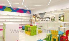 Дизайн интерьера детского магазина Мишутка торговая мебель КАРАМЕЛЬ Дизайн 08