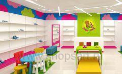 Дизайн интерьера детского магазина Мишутка торговая мебель КАРАМЕЛЬ Дизайн 10