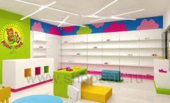 Дизайн интерьера детского магазина Мишутка торговая мебель КАРАМЕЛЬ Дизайн 12