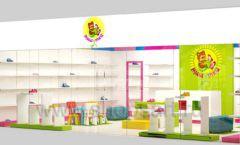Дизайн интерьера детского магазина Мишутка торговая мебель КАРАМЕЛЬ Дизайн 15