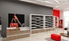 Дизайн магазина обуви торговое оборудование ГЛАМУР Дизайн 01