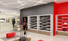 Дизайн магазина обуви торговое оборудование ГЛАМУР Дизайн 03