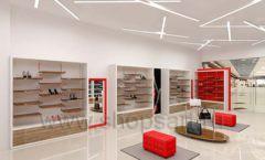 Дизайн магазина обуви торговое оборудование ГЛАМУР Дизайн 04