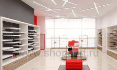 Дизайн магазина обуви торговое оборудование ГЛАМУР Дизайн 05