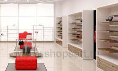 Дизайн магазина обуви торговое оборудование ГЛАМУР Дизайн 06
