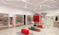 Дизайн магазина обуви торговое оборудование ГЛАМУР Дизайн 08