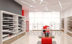 Дизайн магазина обуви торговое оборудование ГЛАМУР Дизайн 09