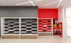 Дизайн магазина обуви торговое оборудование ГЛАМУР Дизайн 10
