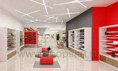 Дизайн магазина обуви торговое оборудование ГЛАМУР Дизайн 11