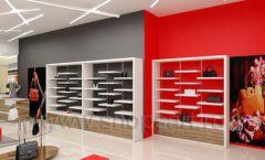 Дизайн магазина обуви торговое оборудование ГЛАМУР Дизайн 12