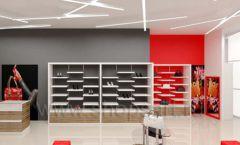 Дизайн магазина обуви торговое оборудование ГЛАМУР Дизайн 13
