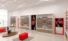Дизайн магазина обуви торговое оборудование ГЛАМУР Дизайн 14