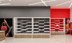 Дизайн магазина обуви торговое оборудование ГЛАМУР Дизайн 15